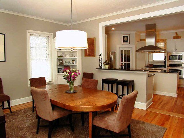 Elegance look kitchen area #KBHome | Dining room layout, Dining .