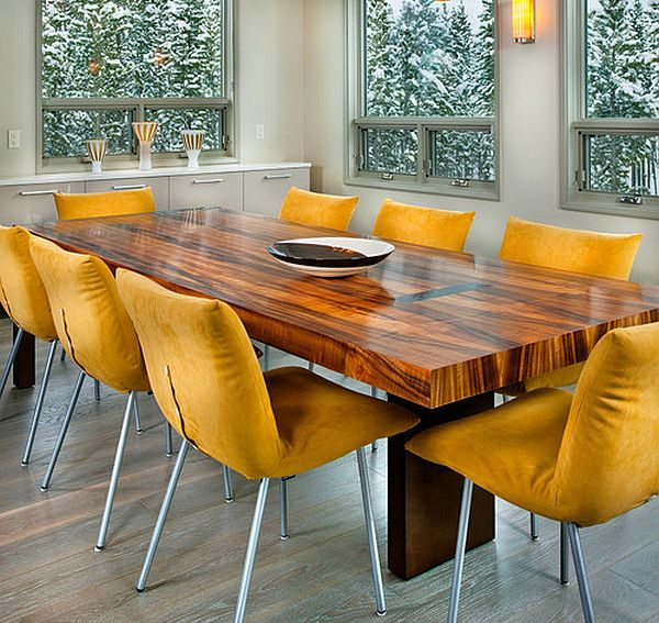 Perfect Dining Chairs for Cozy, Luxurious or Bold Dining Spac