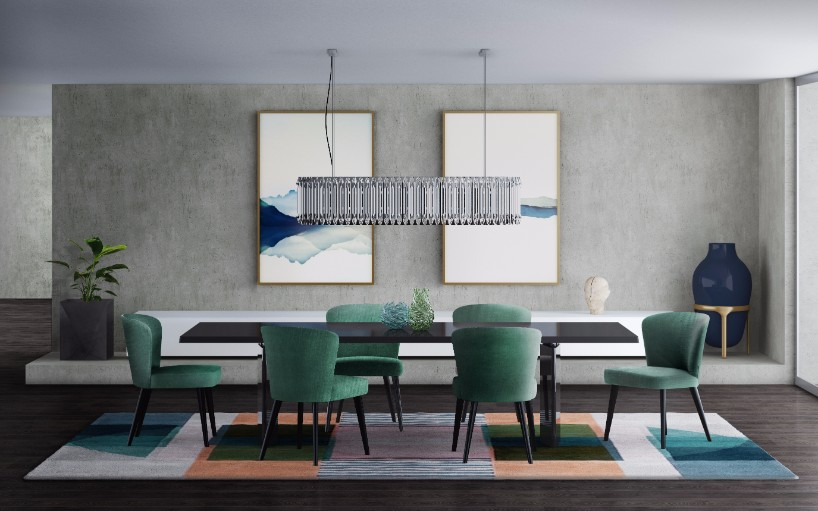 Suspension Lighting Solutions for a Contemporary Dining Ro