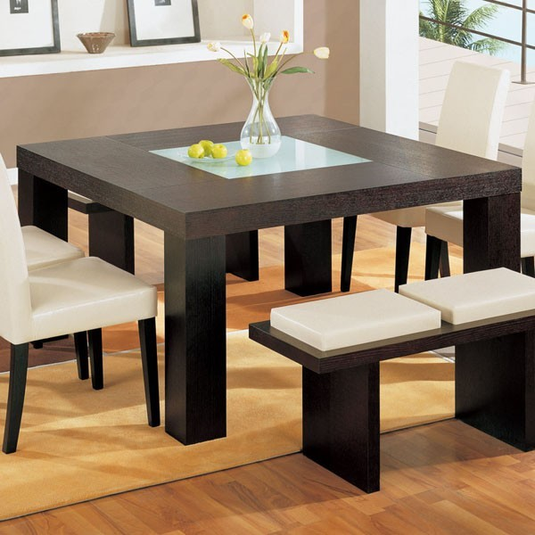 Square dining table contemporary - Video and Photos .