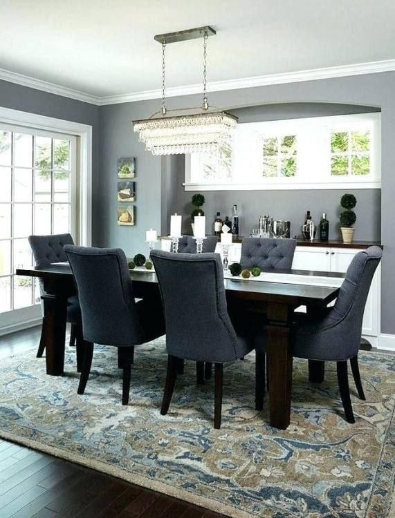 Rug Or No Rug In Dining Room | Blue living room decor, Area rug .