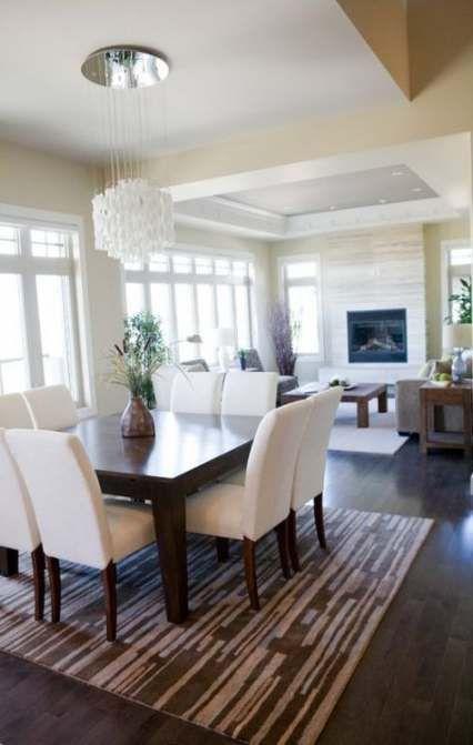 68 Ideas kitchen table rug square   Elegant dining room, Modern .