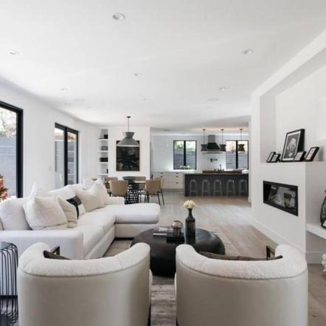 51+ Modern Minimalist Living Room Decor Ideas | Modern white .
