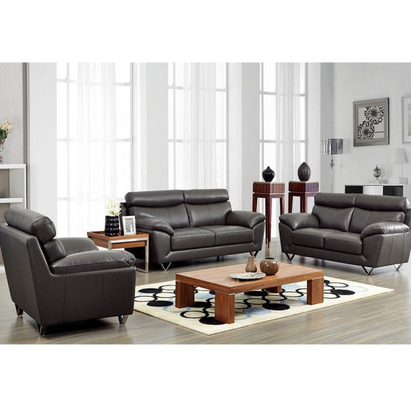 8049 Modern Leather Living Room Sofa Set by Noci Design – City .