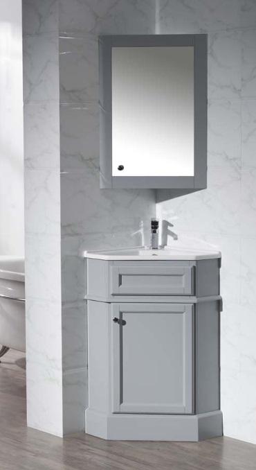 Corner Bathroom Vanities - Small Bathroom Ideas 1