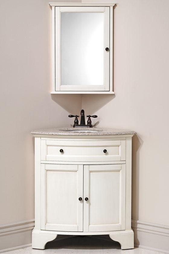 Hamilton Corner Vanity | Corner bathroom vanity, Corner sink .