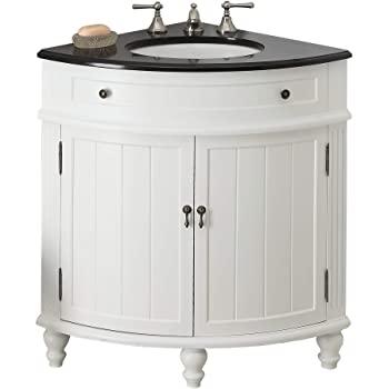 "24"" Thomasville Corner Sink Bathroom Vanity Model GD-47533GT ."