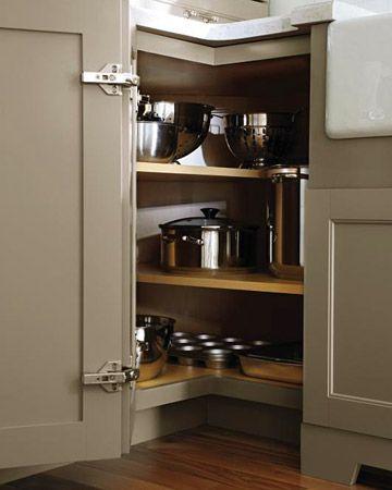 Martha Stewart Living Kitchen Designs from The Home Depot | Corner .