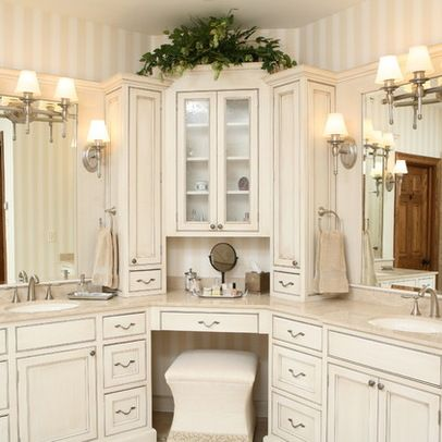 Corner Vanities Design Ideas, Pictures, Remodel and Decor | Corner .