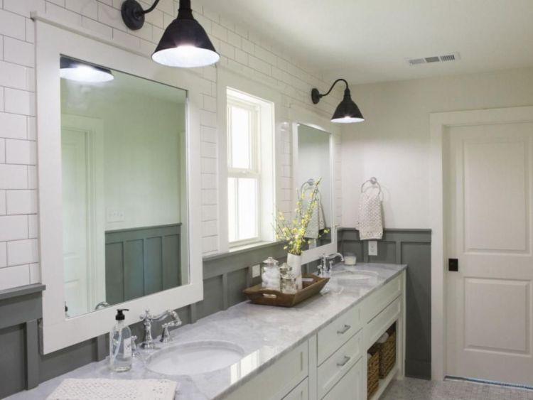 53 Cozy Farmhouse Master Bathroom Remodel Ideas | Farmhouse .