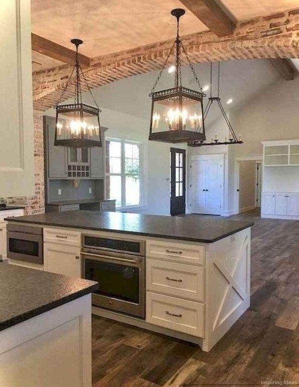 20+ Elegant Farmhouse Kitchen Cabinet Makeover Design Ideas That .