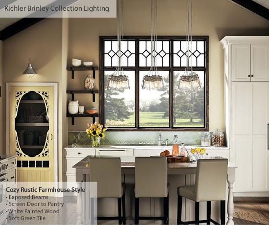 Farmhouse Style Lighting from Kichler | my design