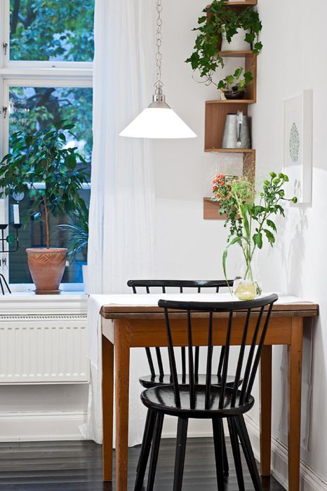 kitchen ,#table, #interiors   Dining room small, Small dining room .