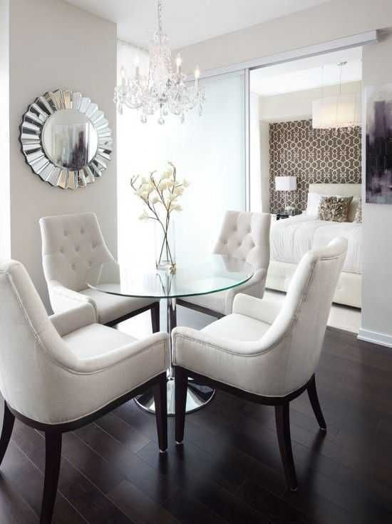 Modern Dining Room Sets for Small Spaces | Dining room cozy .