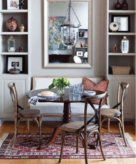 thatkindofwoman | Dining room cozy, Small dining room table .