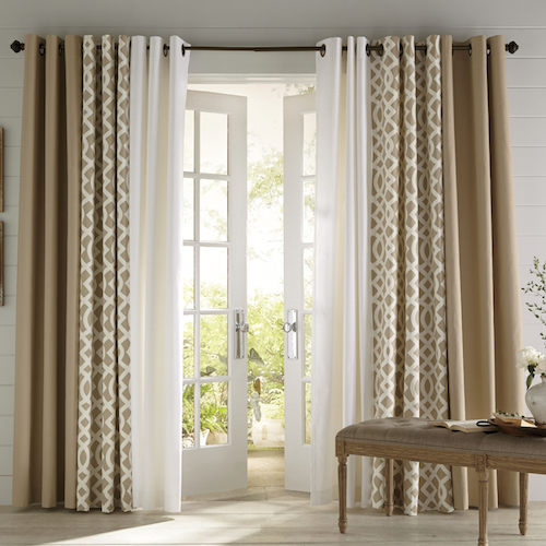 Make the Most of Your Living Room and Dining Room Combo | Curtains .