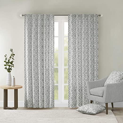 Amazon.com: Grey Curtains For Living room , Modern Contemporary .