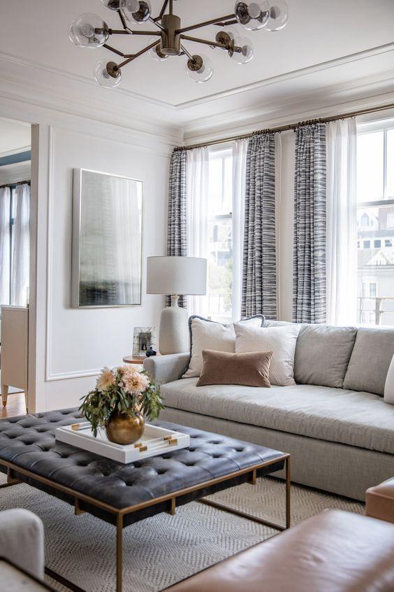 30 Beautiful Living Room Curtain Ideas 2019 (Gorgeous & Stylish .
