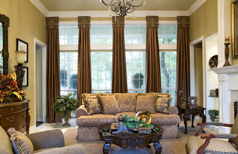 Curtains For Large Living Room Window And Living Room Incredible .