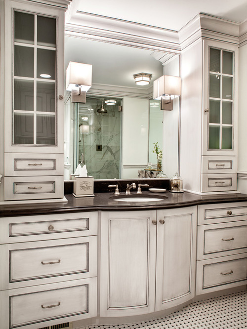 Bathroom Custom Bathroom Cabinet Ideas Magnificent On Intended For .