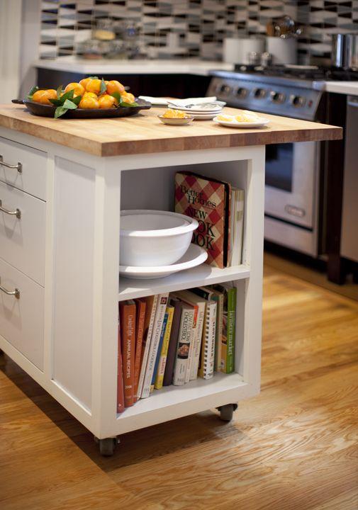 Contemporary Kitchen Photos | HGTV | Custom kitchen island .