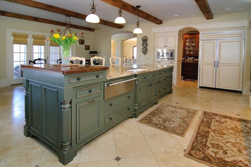 72 Luxurious Custom Kitchen Island Designs | Kitchen island with .