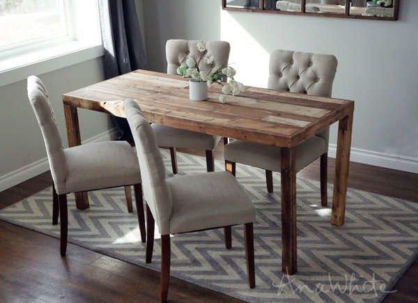 25 DIY Dining Tables - Bob Vi