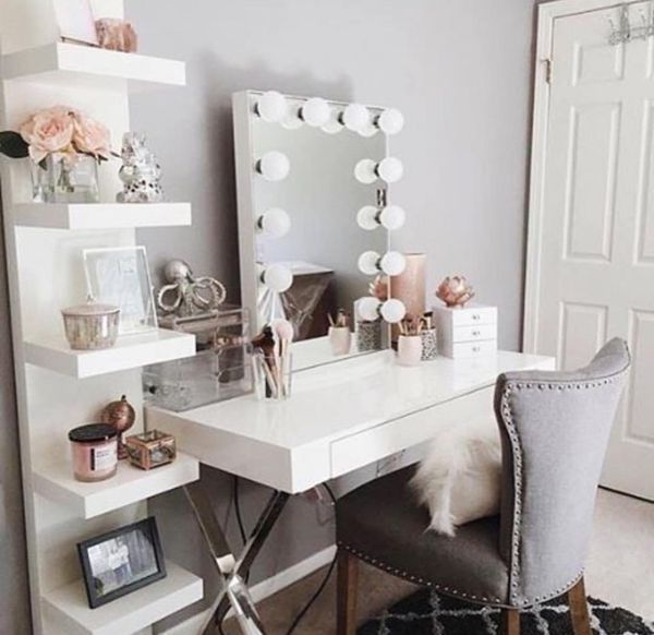 White laquer desk | Box Room Ideas Ikea | Small Bedroom Ideas For .