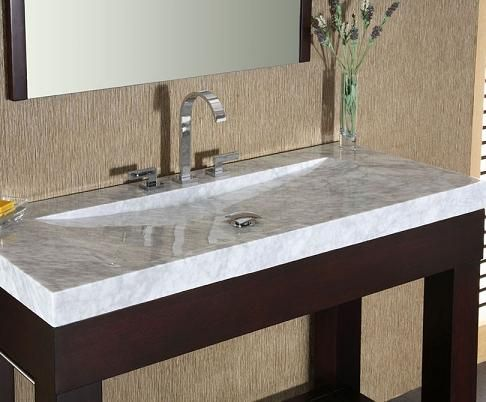 Integrated Stone Sinks - Bathroom Vanities With A Stylish Twist .