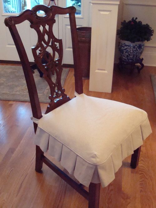 Slipcovers | Dining room chair slipcovers, Slipcovers for chairs .
