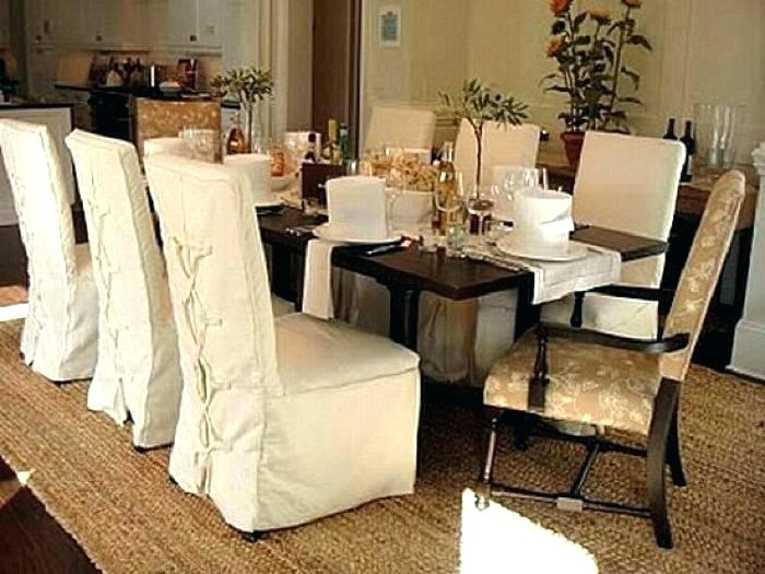 Slipcover Dining Room Chair Slipcovers Chairs Slip Covers Retro .