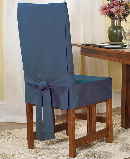 Sure Fit Short Dining Room Chair Slipcover & Reviews - Slipcovers .