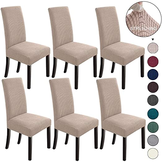 Amazon.com: NORTHERN BROTHERS Dining Room Chair Slipcovers Dining .