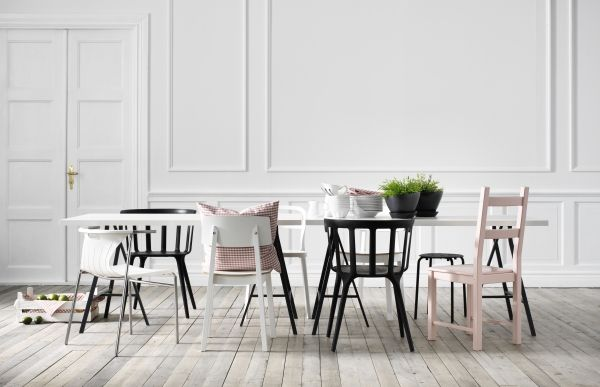 Dining chairs - Chair covers & Dining chairs - IKEA | Distressed .