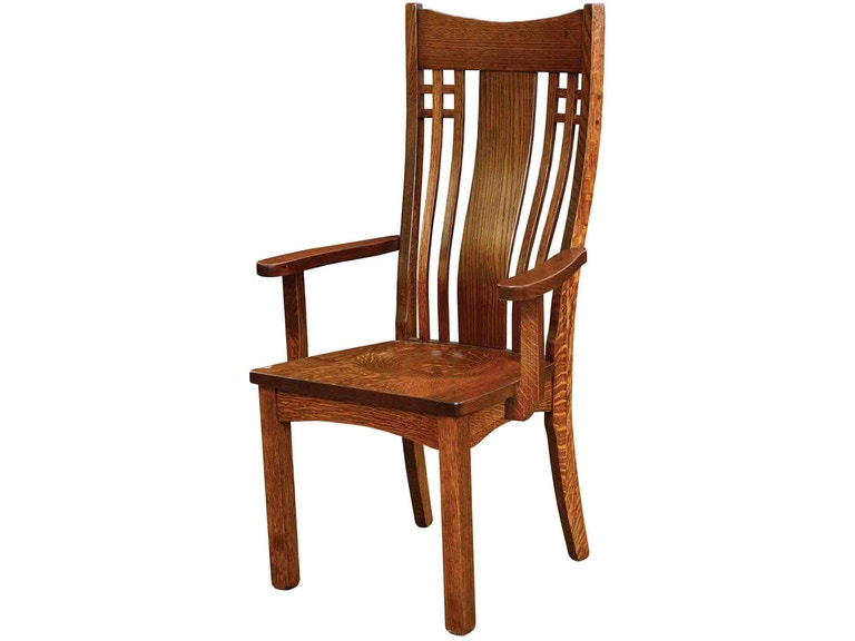 Trailway Andalusia Solid Wood Arm Chair is available in the .