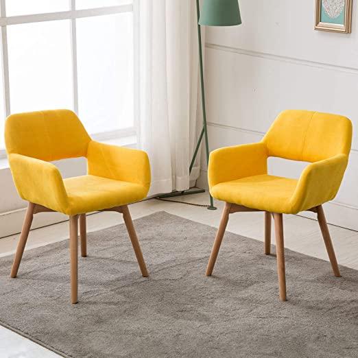Amazon.com - Lansen Furniture (Set of 2) Modern Living Dining Room .