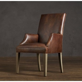 Leather Dining Room Chairs With Arms - Ideas on Fot