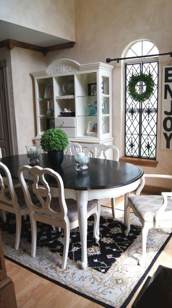 Dining Room Table Makeover | Dining room table makeover, Dining .