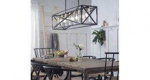 Moorgate 5 Light Linear Chandelier by Kichler | Farmhouse dining .