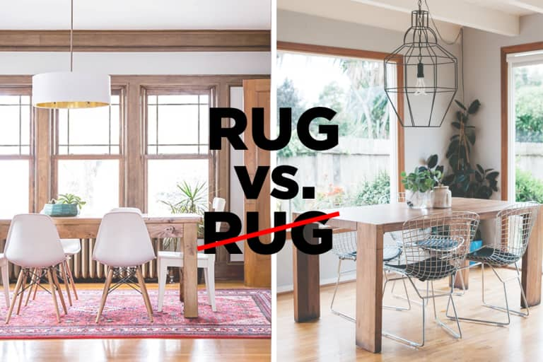 Let's Settle This: Do Rugs Belong in The Dining Room? | Apartment .