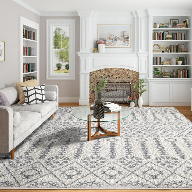 Shag Soft Area Rugs 8'x 10' Tufting Carpets Rugs for Dining Room .