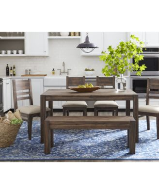 Furniture Avondale 6-Pc. Dining Room Set, Created for Macy's, (60 .