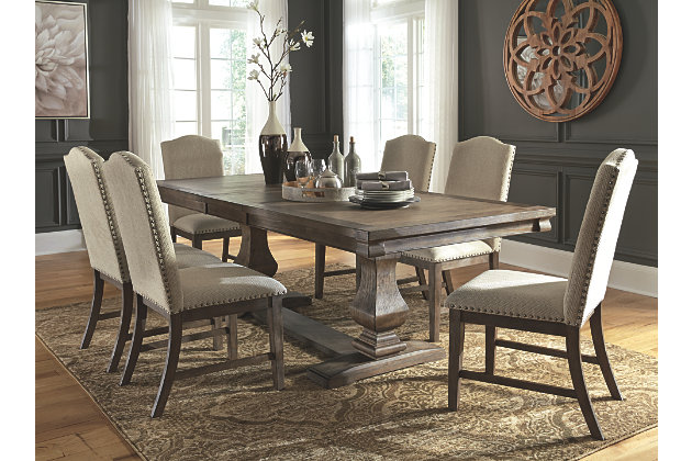 Johnelle Dining Table and 6 Chairs Set | Ashley Furniture HomeSto