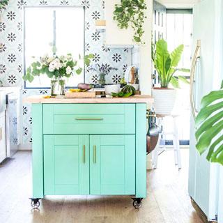 Diy Kitchen Island Ikea Style