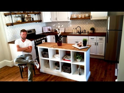 IKEA HACK - Kitchen Island DIY Project - YouTu