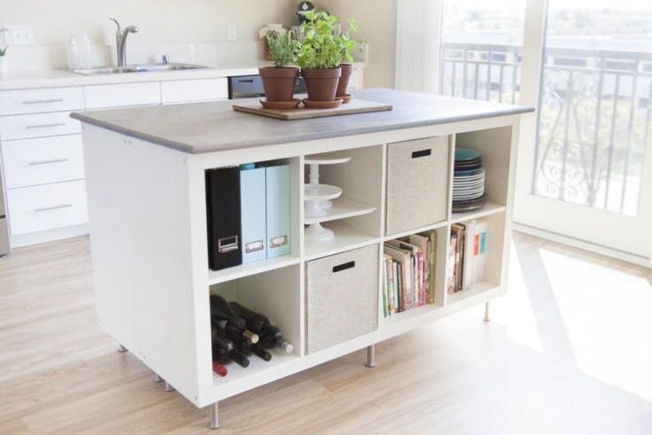 DIY Kitchen Island Ideas & Projects • OhMeOhMy Bl
