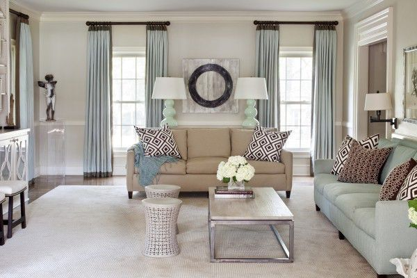 curtains | Contemporary family rooms, Living room windows .