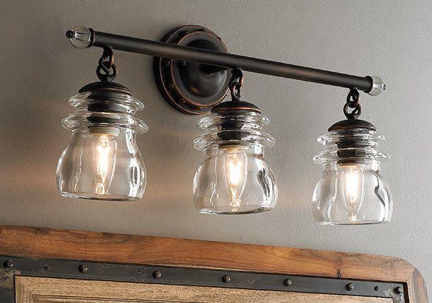 Farmhouse Bathroom Lighting