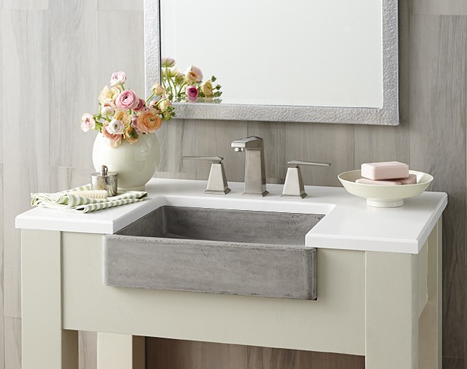 Bathroom Design Trend: Apron-Front Sinks | Native Trai