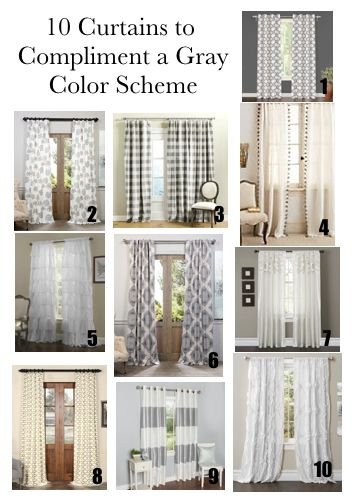 Farmhouse Curtains for Living Room